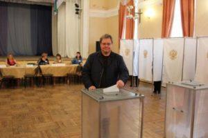 Валерий Козлов выразил благодарность жителям Сыктывкара и однопартийцам по итогам выборов