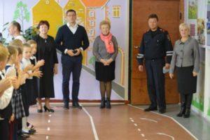 В сыктывкарской школе №21 открылась новая обучающая мини-улица