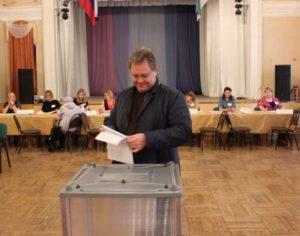 Валерий Козлов принял участие в выборах депутатов Госдумы РФ и Главы Коми
