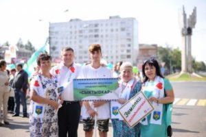 Сыктывкар принял участие в шествии «Республика в лицах»