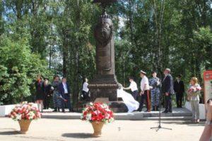 В Сыктывкаре открыли памятник «Шагнувшим в бессмертие»