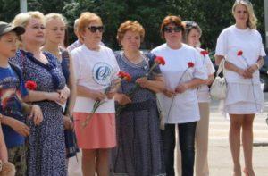 «Женщины Республики Коми и Сыктывкара» почтили память героев и жертв Великой Отечественной войны
