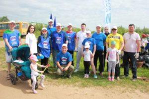 Единороссы Сыктывкара поддержали республиканскую экологическую акцию «Речная лента»