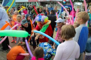 Детский праздник «Единой России» собрал более 100 юных жителей столицы Коми