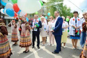 Депутаты Совета Сыктывкара приняли участие в праздновании Дня России и Дня города