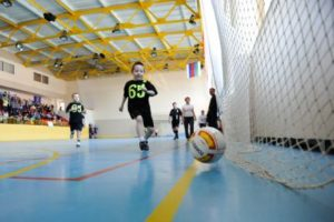Сыктывкарские дошколята показали недетский футбол