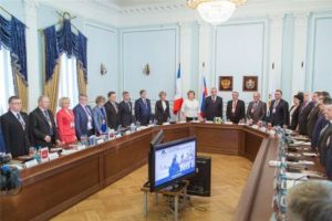 Валерий Козлов принял участие в собрании Союза городов Центра и Северо-Запада России