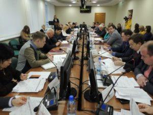 Депутаты городского Совета провели последнее заседание в уходящем году