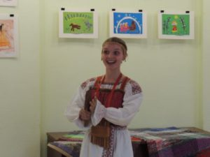 В Сыктывкаре открылась выставка рисунков «Коми народный фольклор»