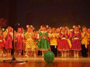 Радуга талантов пела и плясала