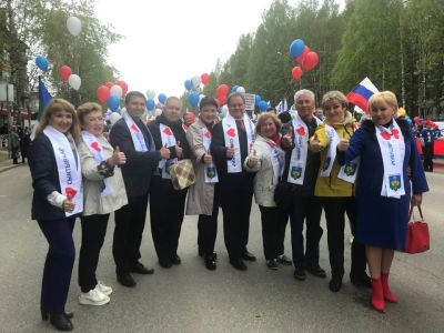 В Сыктывкаре прошли массовые гуляния в честь Дня России и Дня рождения города