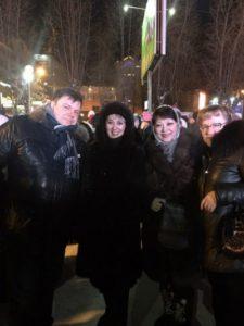В Сыктывкаре отметили четвертую годовщину воссоединения Крыма и России
