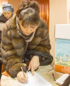Спикер Совета Сыктывкара Анна Дю и её коллеги по депутатскому корпусу проголосовали на выборах Президента России
