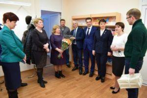 Депутаты от Эжвинского района дали высокую оценку новому корпусу средней школы № 30