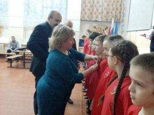 Ряды юнармейцев Сыктывкара пополнились новыми бойцами