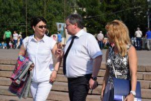 В Сыктывкаре проходят народные гуляния в честь дня рождения республики