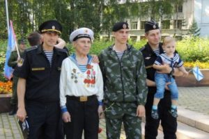 В Сыктывкаре отмечают День военно-морского флота