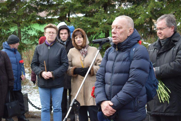 Сыктывкар почтил память жертв политических репрессий