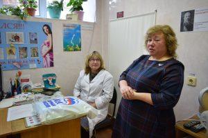 Партийцы внесли свою лепту в поддержку будущих матерей Сыктывкара