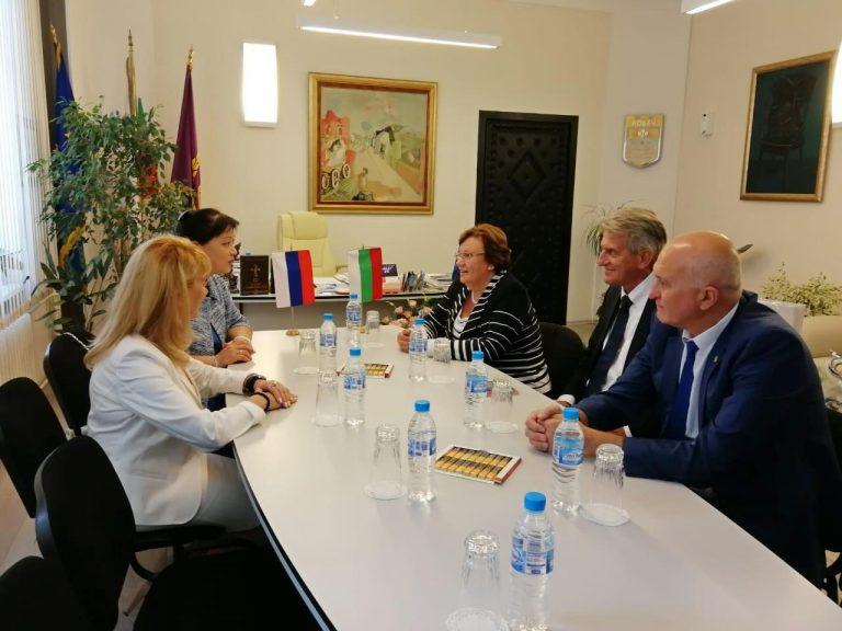 Руководство Сыктывкара провело рабочую встречу с властями Ловеча