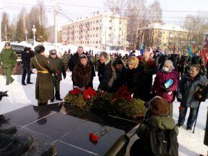 В Сыктывкаре почтили память погибших воинов