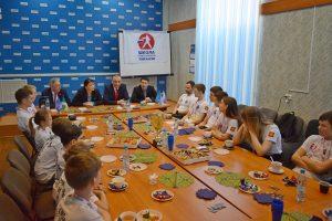 Анна Дю встретилась с победителями Всероссийского турнира по тхэквондо ITF RUSSIA OPEN