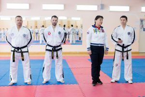 Анна Дю пожелала успешного выступления сборной команде по тхэквондо на RUSSIA OPEN