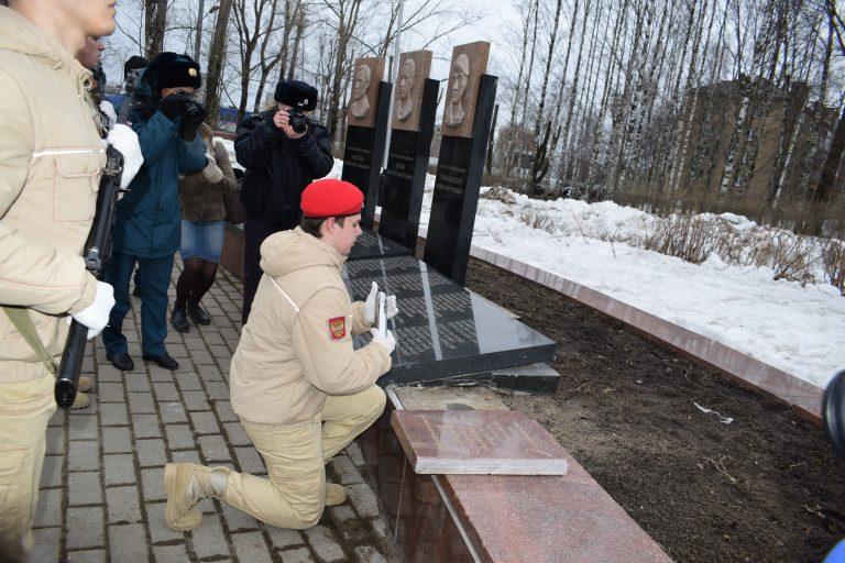 В Сыктывкаре торжественно заложили капсулу с землей Северного Кавказа