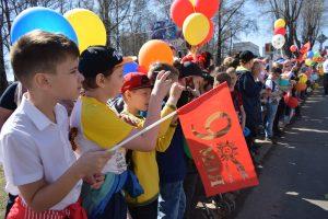 Празднование Дня Победы в Сыктывкаре проходит на нескольких площадках городского округа