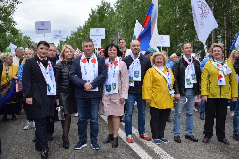 Сыктывкар отмечает День России и День города