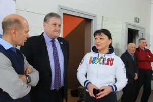 Председатель Совета Сыктывкара поприветствовала участников Первенства республики по вольной борьбе
