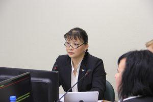 Анна Дю поблагодарила волонтеров за добросовестный труд