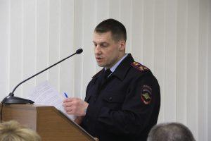 Депутаты Сыктывкара заслушали информацию начальника полиции города  за 2019 год