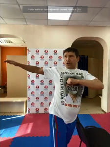 Лицей народной дипломатии принял участие в оздоровительном проекте Анатолия Чиканчи «Бой с утром»