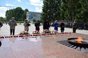 В День памяти и скорби городские власти почтили погибших в годы Великой Отечественной войны