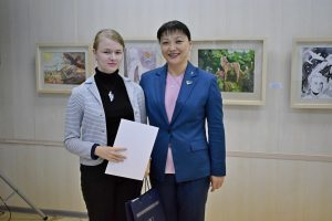 В Сыктывкаре отметили победителей городского конкурса детского рисунка в честь 75-летней годовщины Победы в Великой Отечественной войне