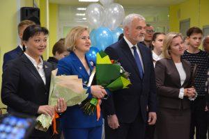 Новая школа в микрорайоне Орбита встретила первых учеников
