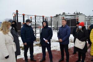 В Сыктывкаре готовится к открытию современная многофункциональная спортплощадка