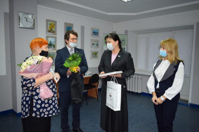 Анна Дю поблагодарила Сыктывкарское общество инвалидов за эффективную работу