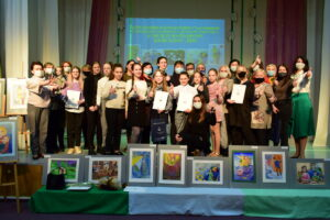 Награждены победители городского конкурса рисунка к Международному женскому дню