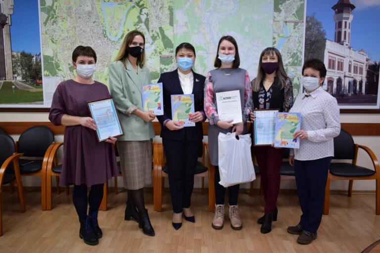Работы победителей конкурса рисунка к 8 марта вошли в детский журнал «Би кинь»