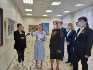 Произведения искусства военных лет представлены на выставке «Эхо войны»