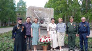 В День города в Сыктывкаре открыли памятник участникам ликвидации катастрофы на Чернобыльской АЭС