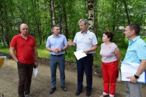 В Сыктывкаре приступили к благоустройству пешеходной зоны по ул. Димитрова