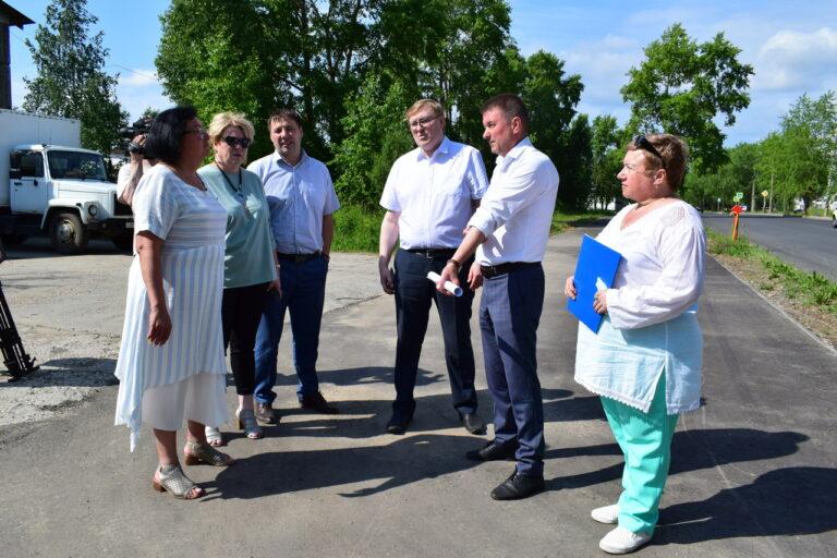 Депутаты от Эжвинского района осмотрели отремонтированные объекты дорожной инфраструктуры
