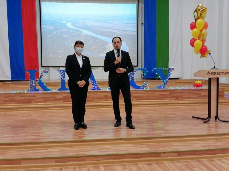 Анна Дю поздравила студентов с Днем знаний